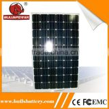 High conversion efficiency 280w b grade solar photovoltaic panel plate solar