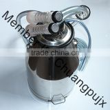 Single Milk Bucket Cluster, Milk Cluster Gruop for Goat Portable Milking Machine, Milking Machine Spare Parts