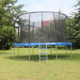 hot sell 12FT round trampoline with basketball hoop for kids