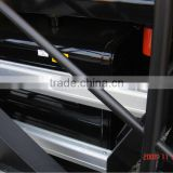 Aluminum alloy guardrail,CNC processing aluminum profile, special use in the heavy vehicle