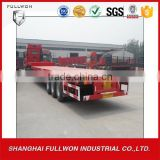 Factory directly tri-axle low bed semi trailer dimensions