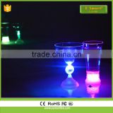 Hot Sale 2017 Glow In the Dark Glass Cup , Fluorescent Cup Manufacturer For party,Led shot Glass/Cups