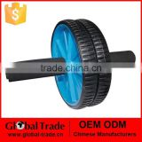 NEW ABS ABDOMINAL EXERCISE WHEEL GYM FITNESS BODY STRENGTH TRAINING ROLLER BLUE H0099