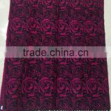 Fashion hot selling wholesale factory ladies winter jacquard rose floral geometric scarf shawl