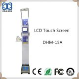 DHM-15A coin operated  Body fat  and height weight measuring scale with blood pressure and Printing
