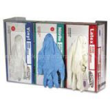 Square Packaging For Disposable Gloves With Embossing Uv Ink 4 Colors Gloss Varnish Paperboard