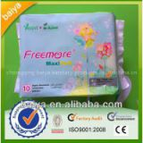 280mm cheap super absorbent cotton sanitary napkins