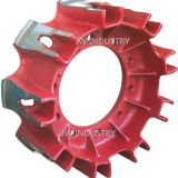 Rear Spider nine Blades wheel hub