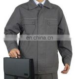 canvas working jacket,men's canvas work wear jacket/cotton canvas cargo work jacket uniform manufacture