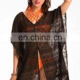 Flattering Black Cover-Up Sarong