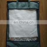 china suppliers cotton or polyester muslim towels white ihram hajj