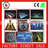 30x30cm/36x36cm (customized) Reflective triangle road signs/safety sign board (licence plate-014)