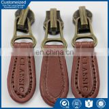 China cheap price leather zipper puller