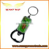 Newest design metal bottle opener keychain for promotional gifts