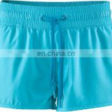 ladies custom Polyester High Quality Sport Shorts