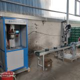 Semi-automatic superfine filling production line fire extinguisher filling machine