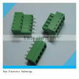 Straight pins 3.5mm male female electrical pluggable terminal block pcb screw mount for electrical board 150V 10A