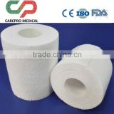 cutted edge EAB Elastic Adhesive bandage white and tan with CE ISO FDA