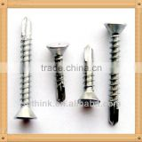 Countersunk Flat Head Window Self Drilling Screw