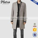 OEM korea fashion long grey winter trench coats for men                                                                         Quality Choice