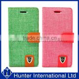 Colourful Denim Skin For iPhone6G/S Folio Case