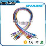Top selling products in alibaba mobile phone accessories OEM quality 3.5mm aux audio cable with good offer free sample                                                                                                         Supplier's Choice
