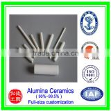 High pure good wear resistance alumina ceramic rod/High strength customized porous resistor alumina ceramic rod