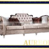 AK-3004 China Wholesale Custom Sofa Set Wrought Iron Sofa Bed