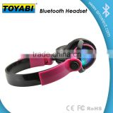 Wireless LED bluetooth Stereo Headphones support memory card and FM radio function headset
