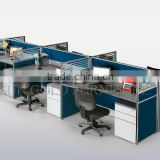 hot sale frameless glass office partition system, modern office workstation( SZ-WS065)