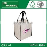 Custom nonwoven fabric bag high quality shopping bags