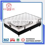 China Wholesale Bed base Hotel Bed Frame With Pocket Spring Mattress