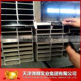Welded cold rolled Hot dip galvanized steel pipe/square steel pipe and rectangle steel pipe tubes