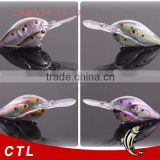 Gold supplier 2015 New Product Fishing Lure Wholesale Shad Crankbait Lure School 3 Fish Baitball