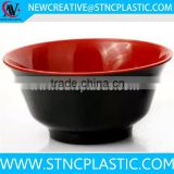 shallow plastic bowl unbreakable dinnerware oriental bowl