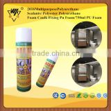 2016 Multipurpose Polyurethane Sealants/ Polyester Polyurethane Foam Caulk Fixing Pu Foam/750ml PU Foam