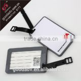 Travel giftware Lovely fancy soft pvc luggage tags for kids