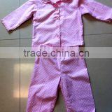 cotton flannel pyjama children cotton pyjamas