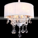 Chandelier Led Light Home Decor Hanging Lamps Lighting Pendant Crystal Chandelier Wedding Decorations Pink Lamp CZ1026/5