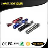 Onlystar GS-7020B aluminum torch 365-395nm money detector mini professional led uv light pen