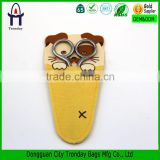 Cartoon dog scissors pouch cute small scissors holder