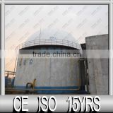 11 Year's Experienced Manufacturer of Floating System Changed to Double Membrane Biogas Holder for Biogas