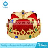 Kings jewelry crown with red liner costume for sale