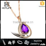 2015 best selling products american diamond necklace sets for women mother gift