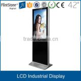 42 inch lcd tv screen display, 42 inch lcd advertising monitor , I pad stand screen with vga avi bnc input