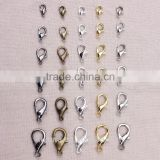 JF9714 Gold/Rhodium/Black/Silver Lobster Clasps Claw Clasp Jewelry Findings