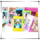Magnet photo/picture frame; Love photo frame; Flexible rubber magnet; Wholesale hoto frame