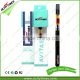 Ocitytimes 280mah bud touch vaporizer pen Most popular 0.5ml/ 0.6ml /1.0ml cbd hemp oil vape pen