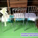 Plastic PC Polycarbonate Resin Clear Chiavari Napoleon Phoenix Ghost Chair