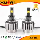 Wholesale Auto Parts h3 led headlight 30w 3600 lumen h3 led headlight bulb high power led headlight lamp